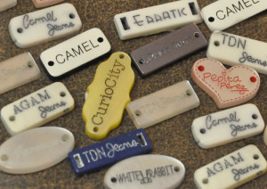 beads ring tags