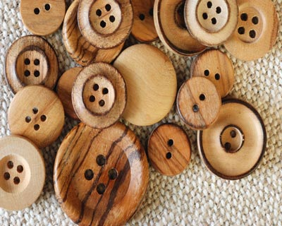 wooden-button